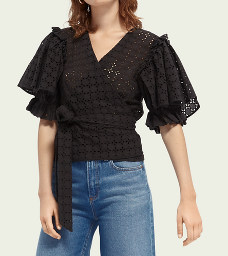 Scotch&Soda Broderie Anglaise Top
