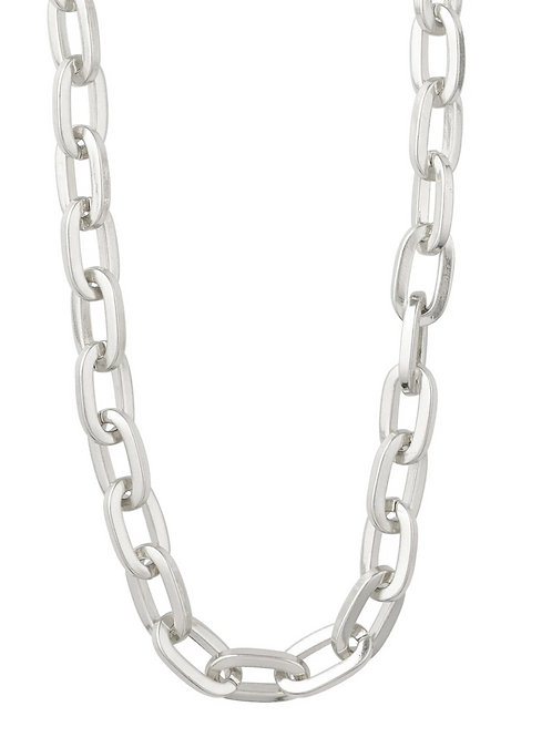 Necklace : Tolerance : Silver Plated