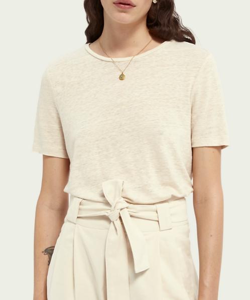 Scotch&Soda Linen T-shirt (2Colors)