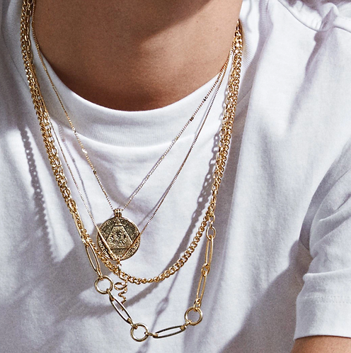 Pilgrim Necklace : Sensitivity : Gold Plated