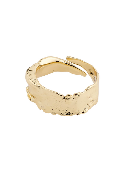 Pilgrim Ring : Bathilda : Gold Plated