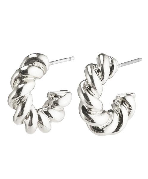 Pilgrim Earrings : Gabrina : Silver Plated