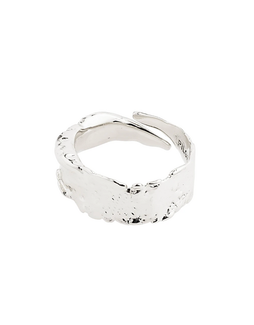 Pilgrim Ring : Bathilda : Silver Plated