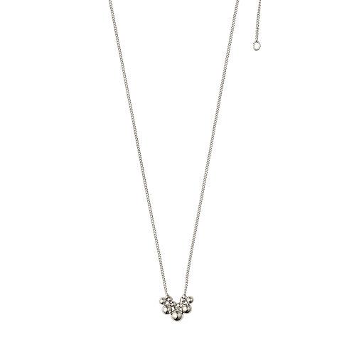 Pilgrim Necklace : Meg : Silver Plated