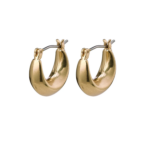 Earrings : Magda : Gold Plated