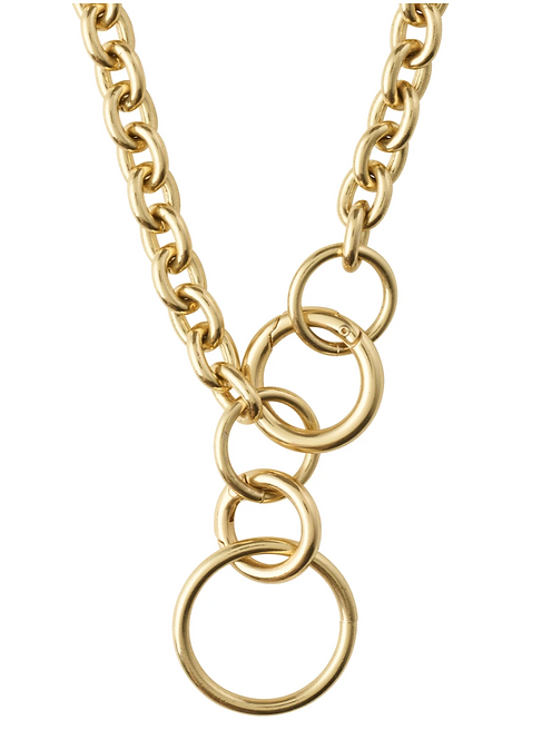 Pilgrim Necklace : Heritage : Gold Plated