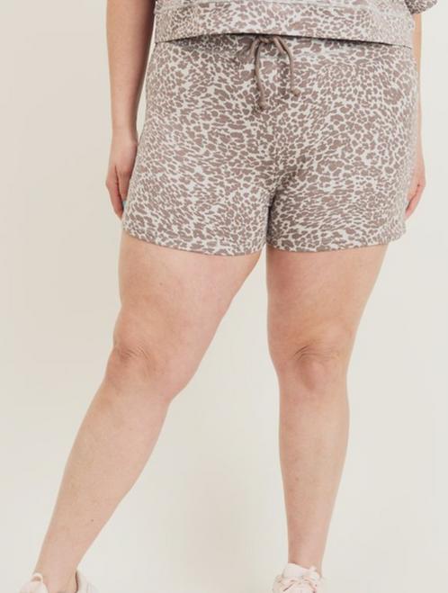 Leopard Print Short