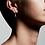 Thumbnail: Pilgrim Earrings : Nyla : Silver Plated