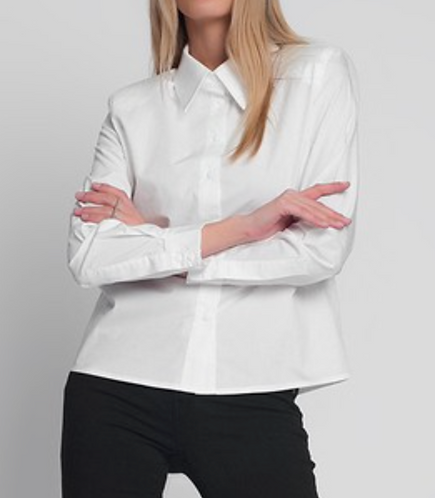 Long Sleeve Shirt with Shoulder Pads