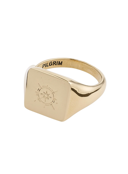 Pilgrim Ring : Cressida : Gold Plated