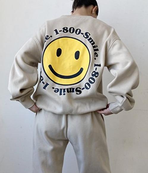 Smile Oversized Sweatshirt