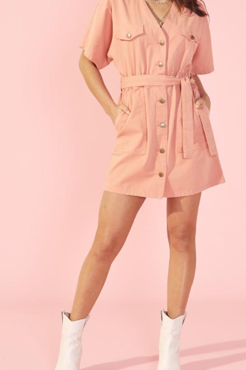 DS0016 Dress short