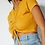 Thumbnail: Front Drawstring Cropped Top (2Colors)
