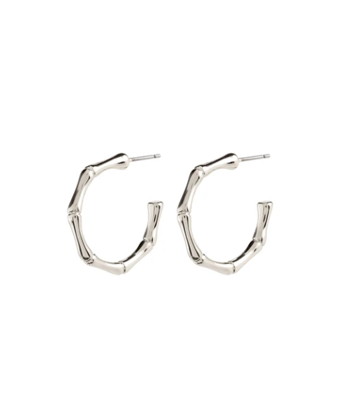 Earrings : Gali : Silver Plated