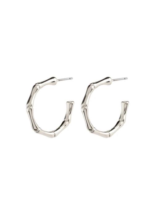 Earrings : Gali : Silver Plated