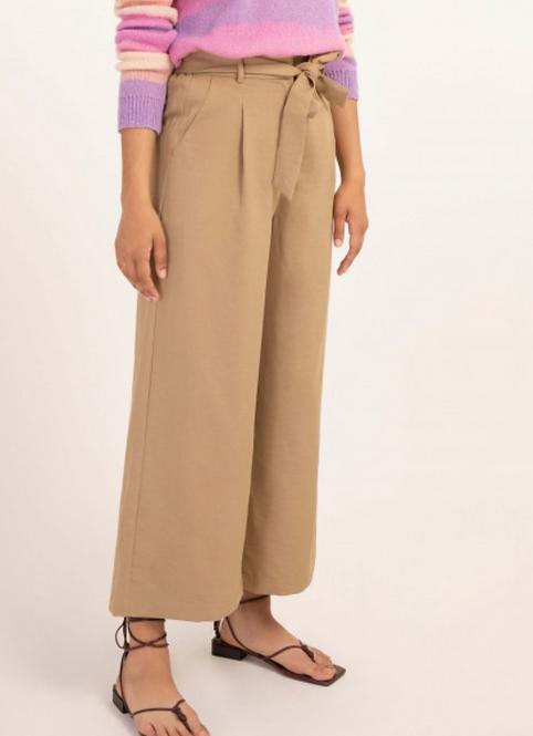 High Waist Cropped Pant