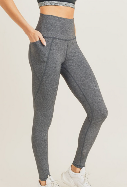 Tapered Band Legging (2Colors)