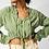 Thumbnail: Long Sleeve Gathered Blouse