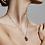 Thumbnail: Pilgrim Necklace : Scorpio Zodiac Sign : Gold Plated : Crystal