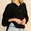 Thumbnail: Lantern Sleeve Blouse (2Colors)