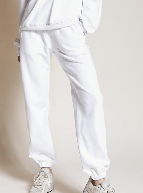 LA Sweatpant - White