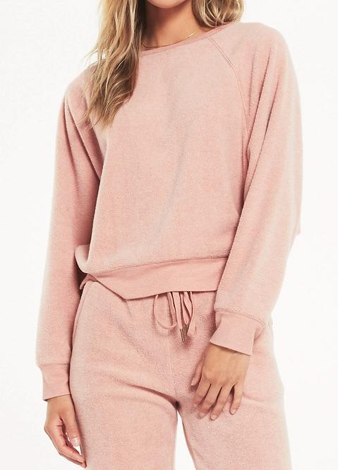 Fleece Knit Sweater