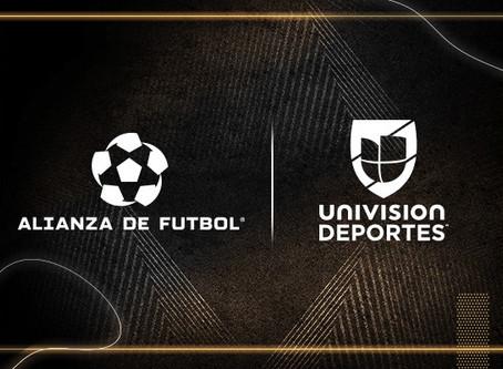 ALIANZA DE FUTBOL INKS FOUR-YEAR MEDIA PARTNERSHIP WITH UNIVISION DEPORTES
