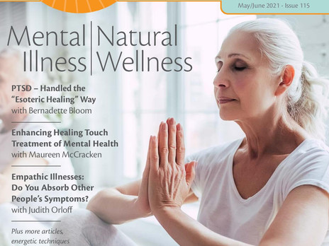 PTSD Handled the Esoteric Healing Way - Energy Magazine May/June Issue 2021