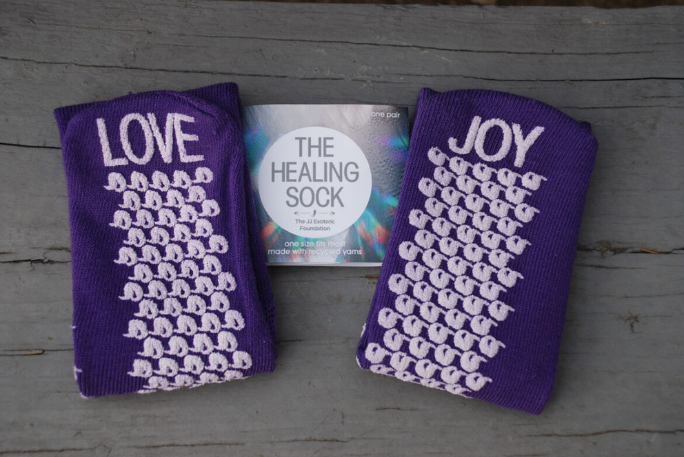 Good Vibes Only with the Healing Sock - Organic Hudson Valley Magazine - July 12, 2020