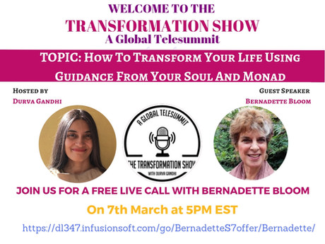 Free Talk: How To Transform Your Life Using Guidance From Your Soul and Monad On The Transformation