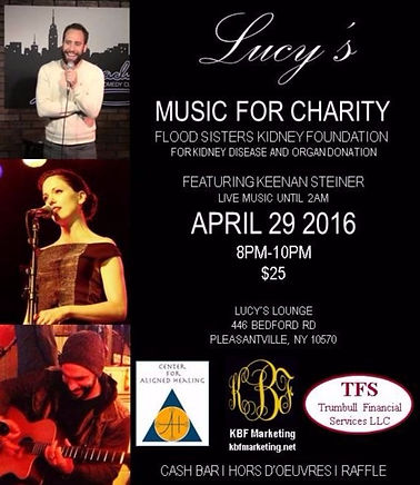 Lucy's Music For Charity – Fundraiser For The Flood Sisters
