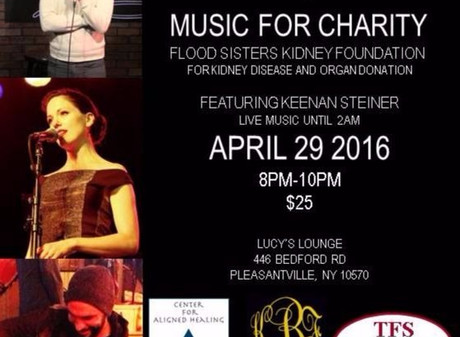 Lucy's Music For Charity – Fundraiser For The Flood Sisters Kidney Foundation