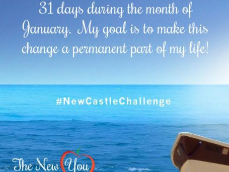 Sign-Up for the New You, New Castle 31-Day Challenge January 1-31st, 2016