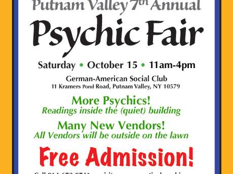 Putnam Valley 7th Annual Psychic Fair