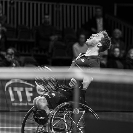 Alfie Hewett Finale ABN AMRO Word tennis tournament 2020