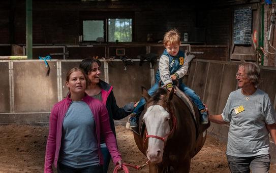 Paardrijden voor gehandicapten - manege Puntenburg