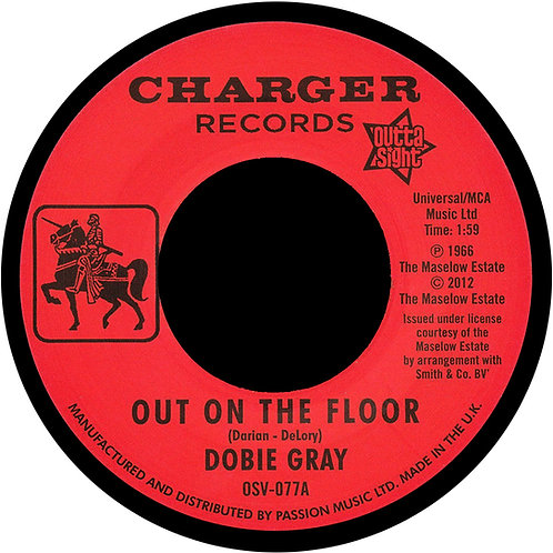 Out On The Floor Fridge Magnet.