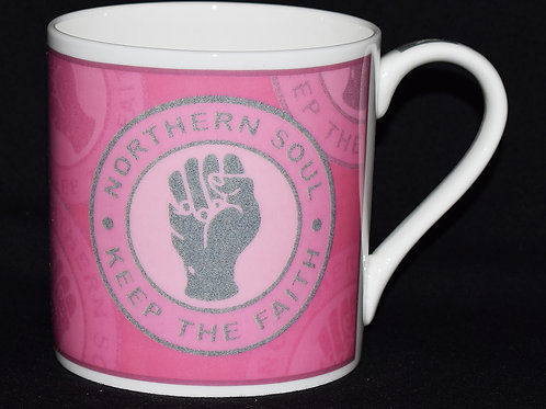 Pink KTF Fine China Mug