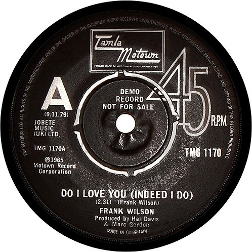 Do I Love You (Tamla) Coaster. CLC902