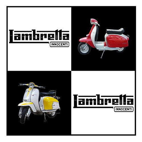 Lambretta Wrap Greeting Card. CL424