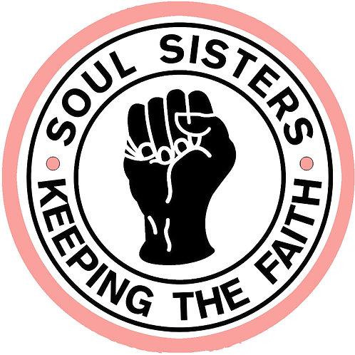 Soul Sisters KTF Fridge Magnet.