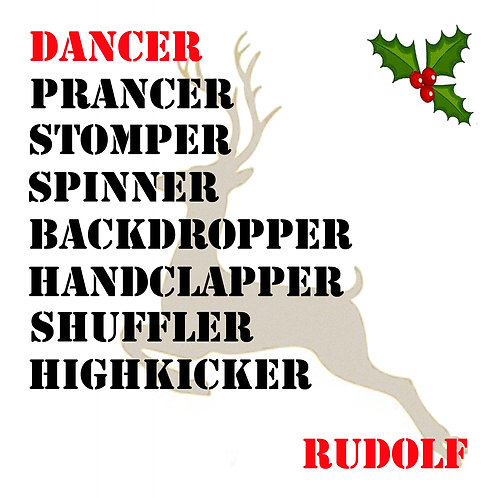 Rudolf Christmas Card CL512