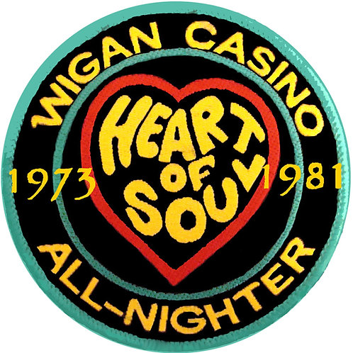 Wigan Casino Heart of Soul Coaster. CLC203.