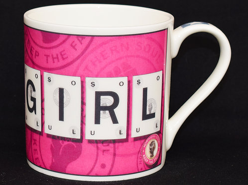 Soul Girl Playing Card Fine China Mug