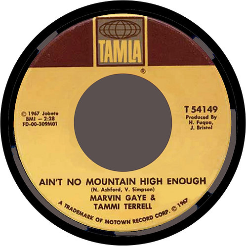 Ain't No Mountain High Enough Coaster. CLC903