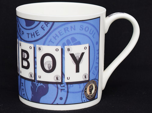 Soul Boy Playing Card Fine China Mug.