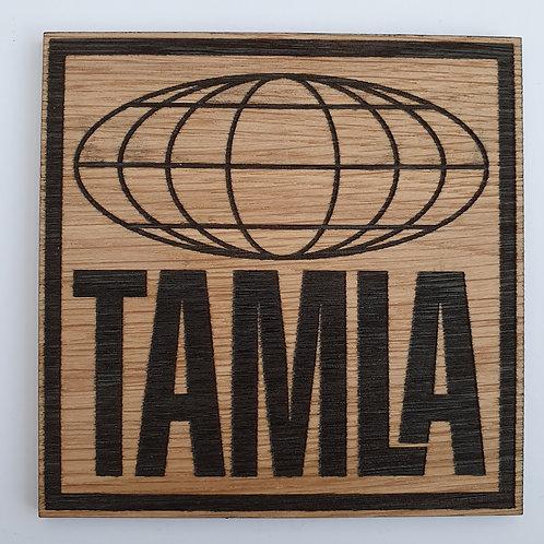 Tamla Label Wooden Coaster