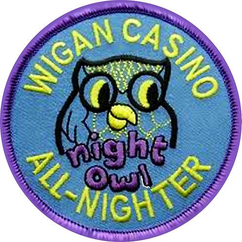 Blue Night  Owl Coaster CLC205