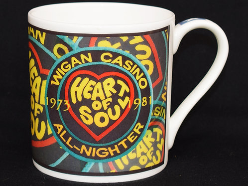 Wigan Casino Fine China Mug