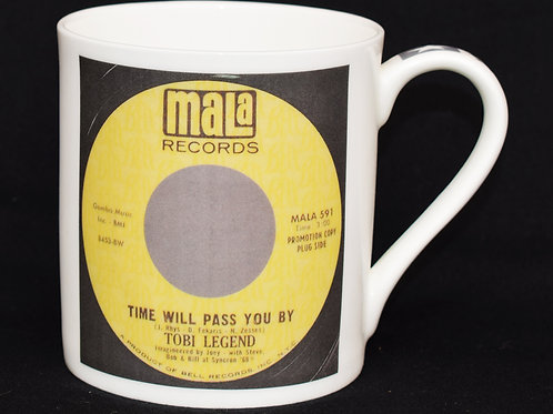 Time Will Pass You By Fine China Mug.